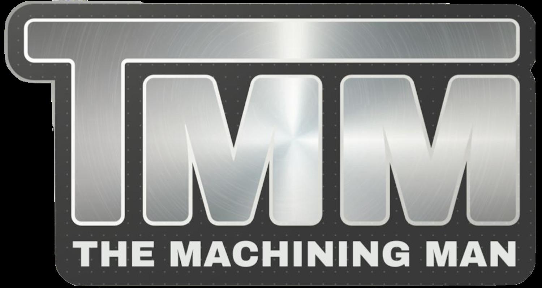 The Machining Man Logo 1500-1